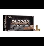 CCI Blazer Brass 40 S&W 180gr FMJ