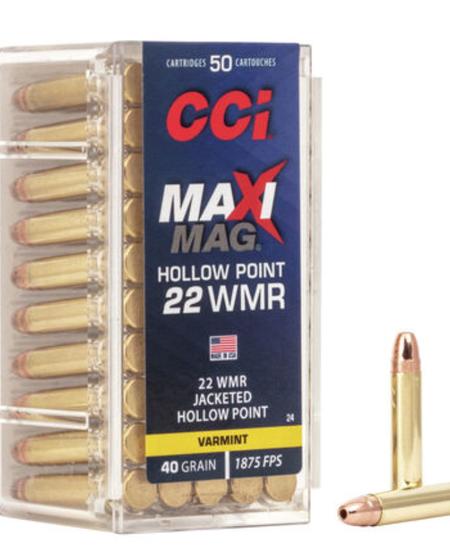 22 WMR HP, Maxi-Mag, 40 gr (50 Pk)