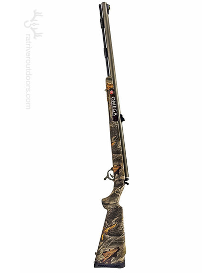 Omega Camo Stainless Muzzleloader