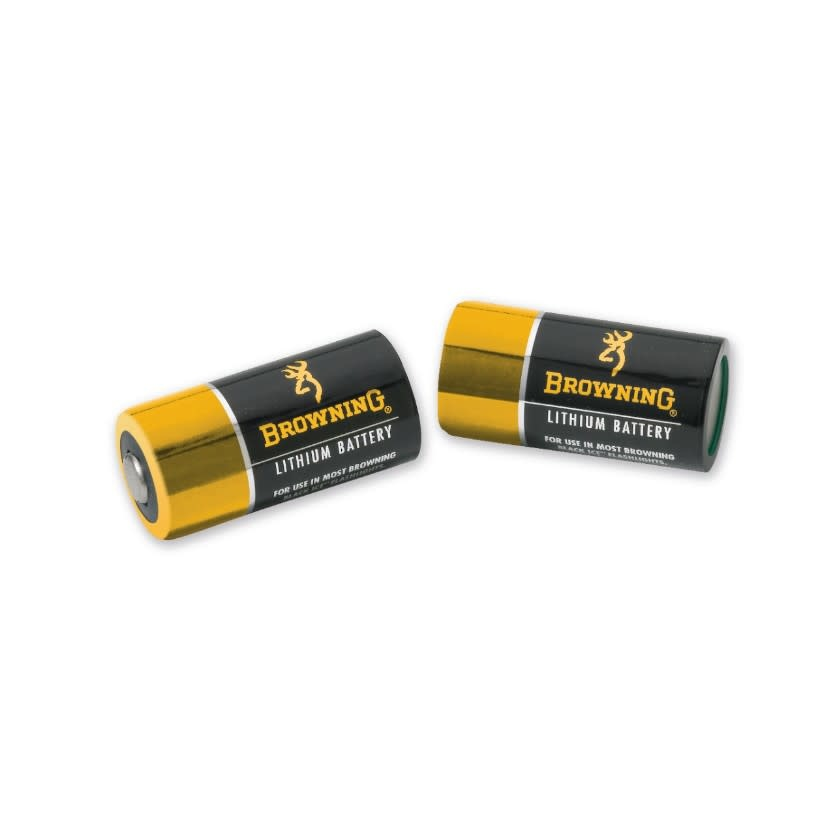 Browning Lithium Batteries CR123A (2 Pk)