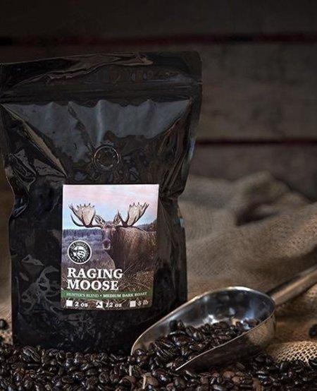 Raging Moose Hunter's Blend-Medium Dark Roast 12oz