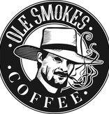 Ole Smokes Coffee Blazin' Apple Smoked Blend Extra Dark Roast 12oz