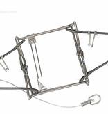 Belisle 120 Super X Body Grip Trap 4.5'' Mink, Muskrat, Marten