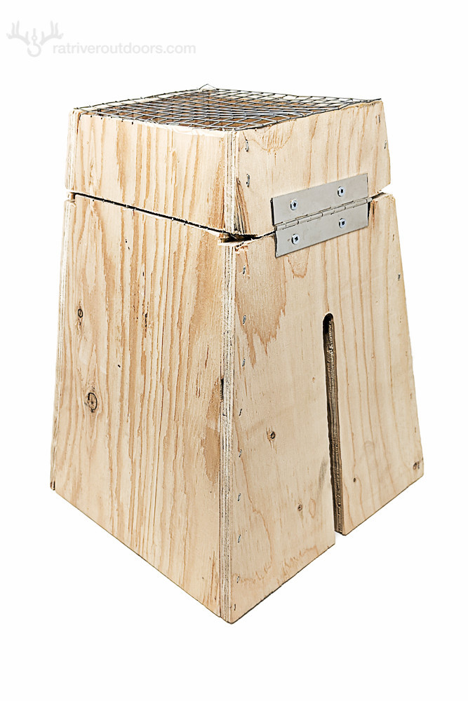 Rat River Outdoors Multi Species Box (fits 120, 160, 220 body grip traps)
