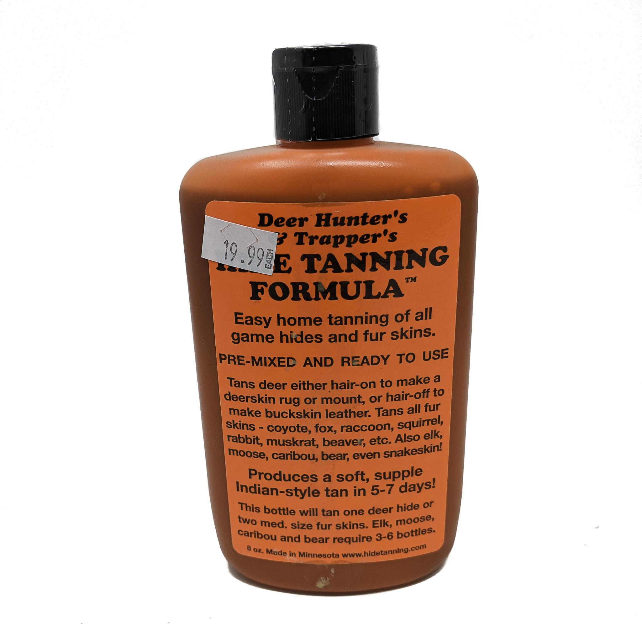 Hide Tanning Formula