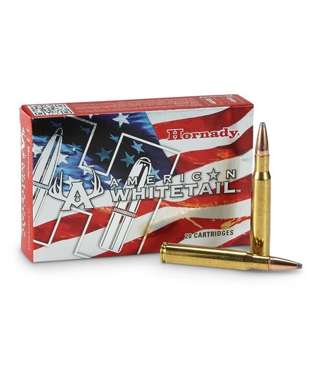 American Whitetail 308 Win, 165 gr Interlock SP (20 Pk)