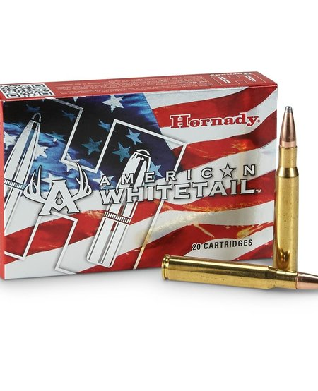 American Whitetail 30-06 SPRG, 150 gr Interlock SP (20 Pk)
