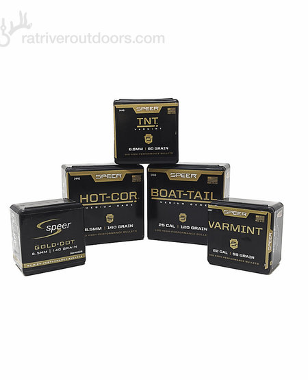 "Bullets 6.5mm 140gr .264"" Hot-Cor Spitzer Soft Point (100 Pk)"