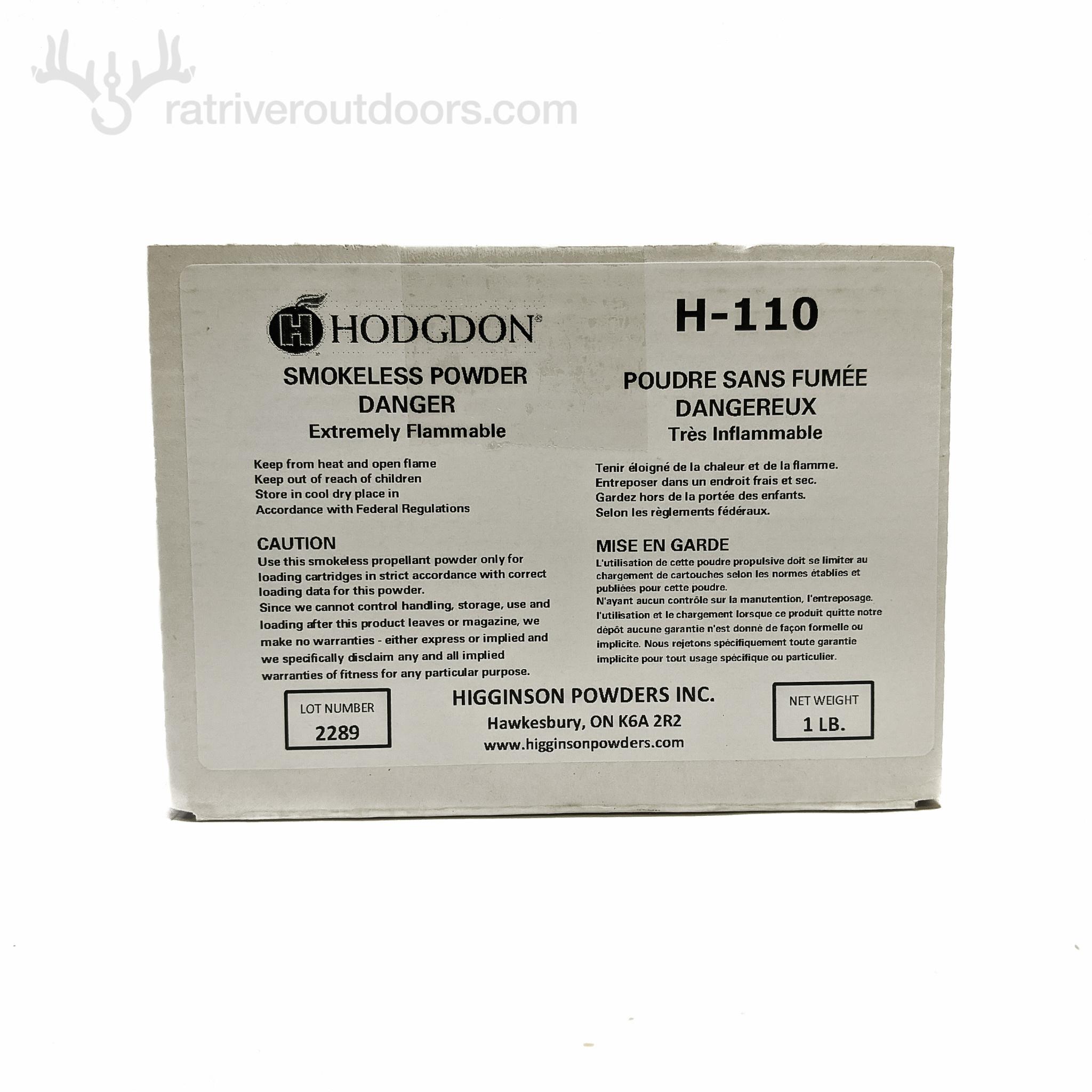 Hodgdon H-110 1lb (boxed)