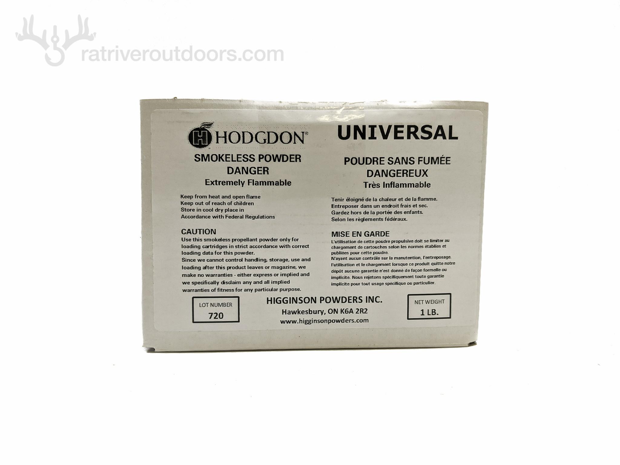 Hodgdon Universal Powder 1lb (boxed)