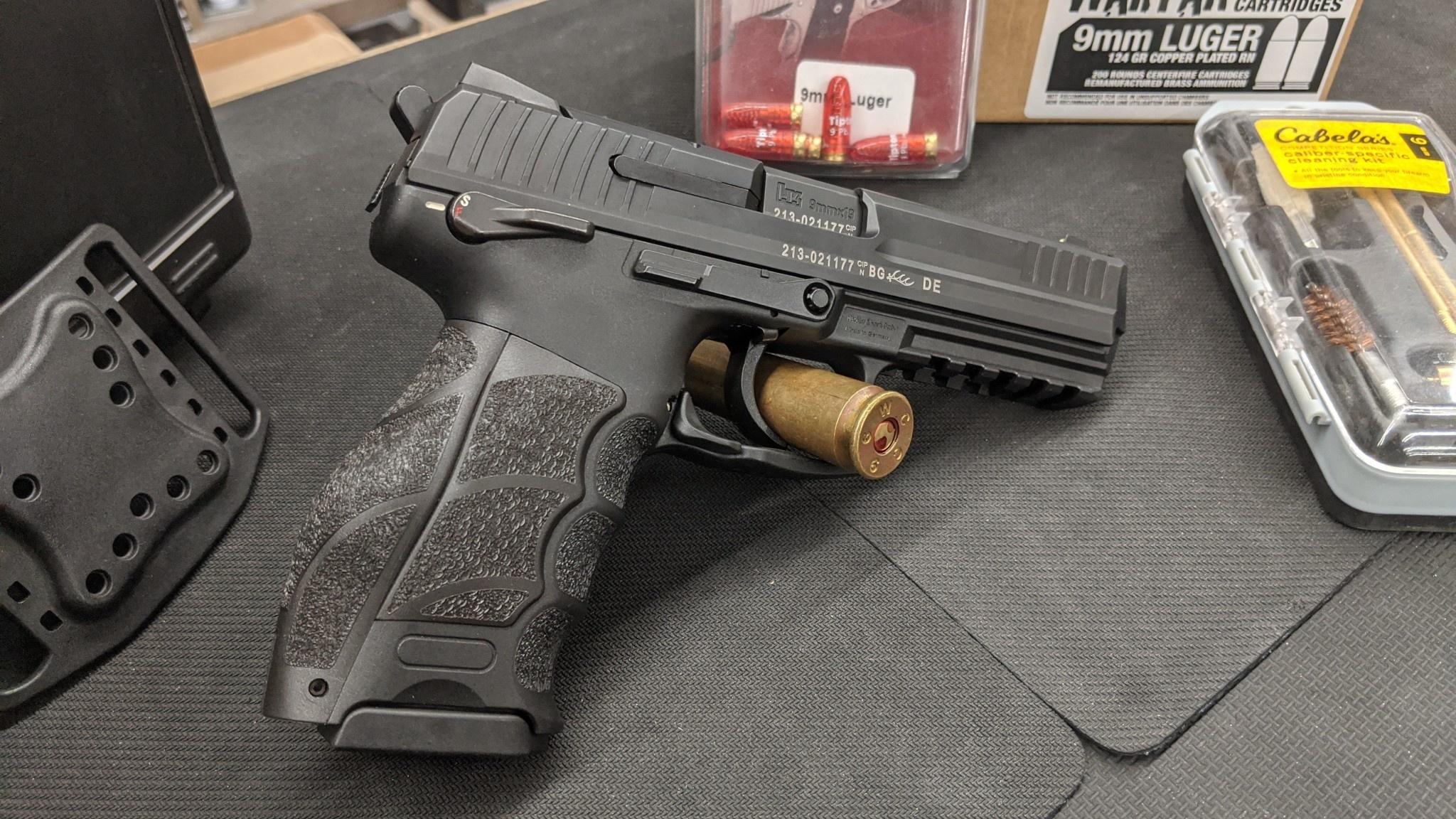 H&K P30L 9mm Pistol