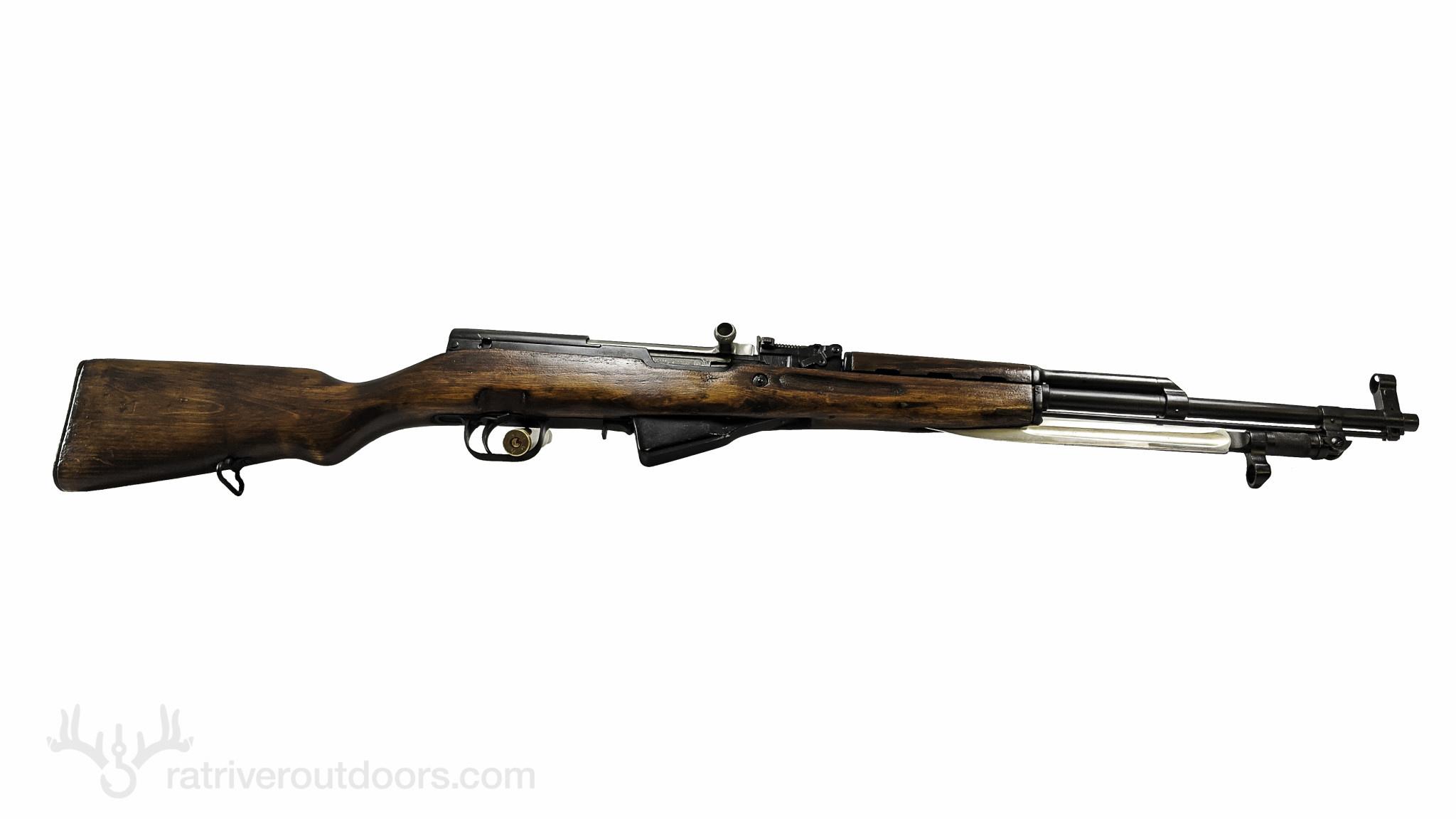 Russian Sks 7.62x39 (Wood Stock)