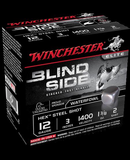 """Blind Side, 12 gauge, 3"""", 1 3/8oz, #2 (25pk)"""