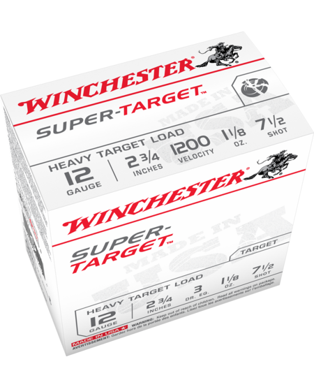 "Super-X Super Target 12ga, 2.75"", 1.1/8oz. #7 3 DRAM (25pk)"