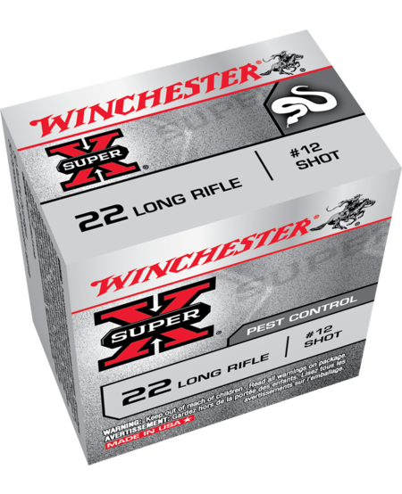 Super-X 22LR, #12 shot (50pk)