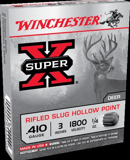 """.410ga, 3"""", 1/4 oz, slug (5pk)"""