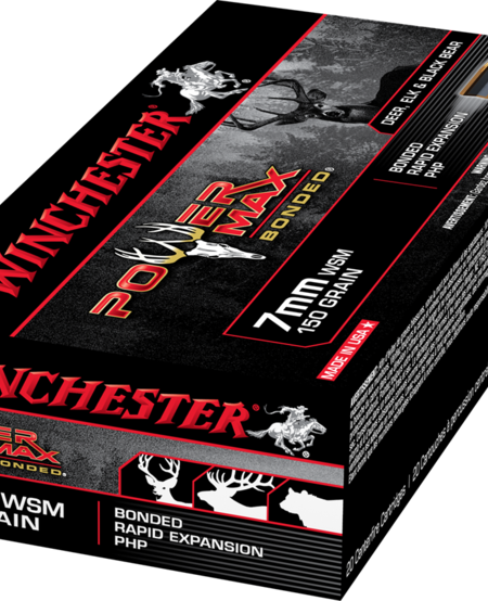 Power Max 7mm WSM, 150gr (20pk)