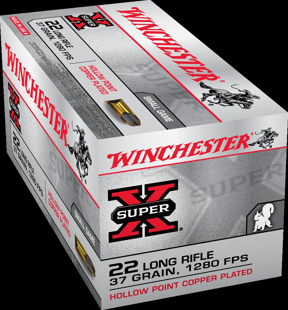 Winchester Super-X 22lr, 37gr (50pk)
