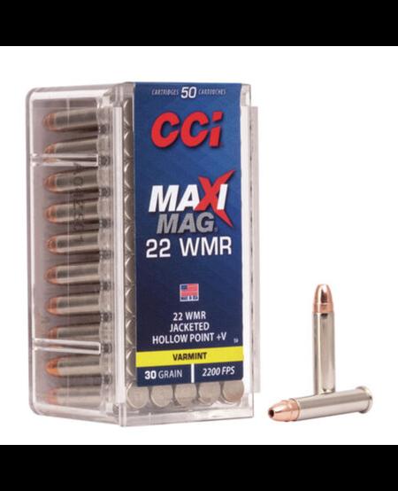 Maxi-Mag+V .22 Win Mag, (50pk)