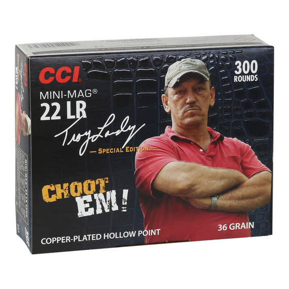 CCI .22lr Mini-Mag Choot Em,36gr, HP (300pk)