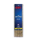 CCI CCI Sub-Sonic low noise CB .22 Long, 29gr, RN (100pk)