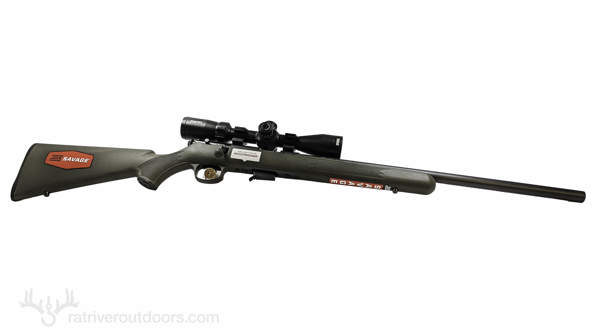Savage 93 .22 Mag Green w/ Bushnell Scope Combo