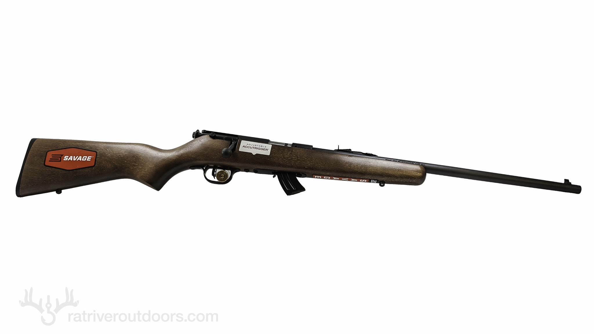 Savage Mark II GY 22LR Youth Blued/Wood
