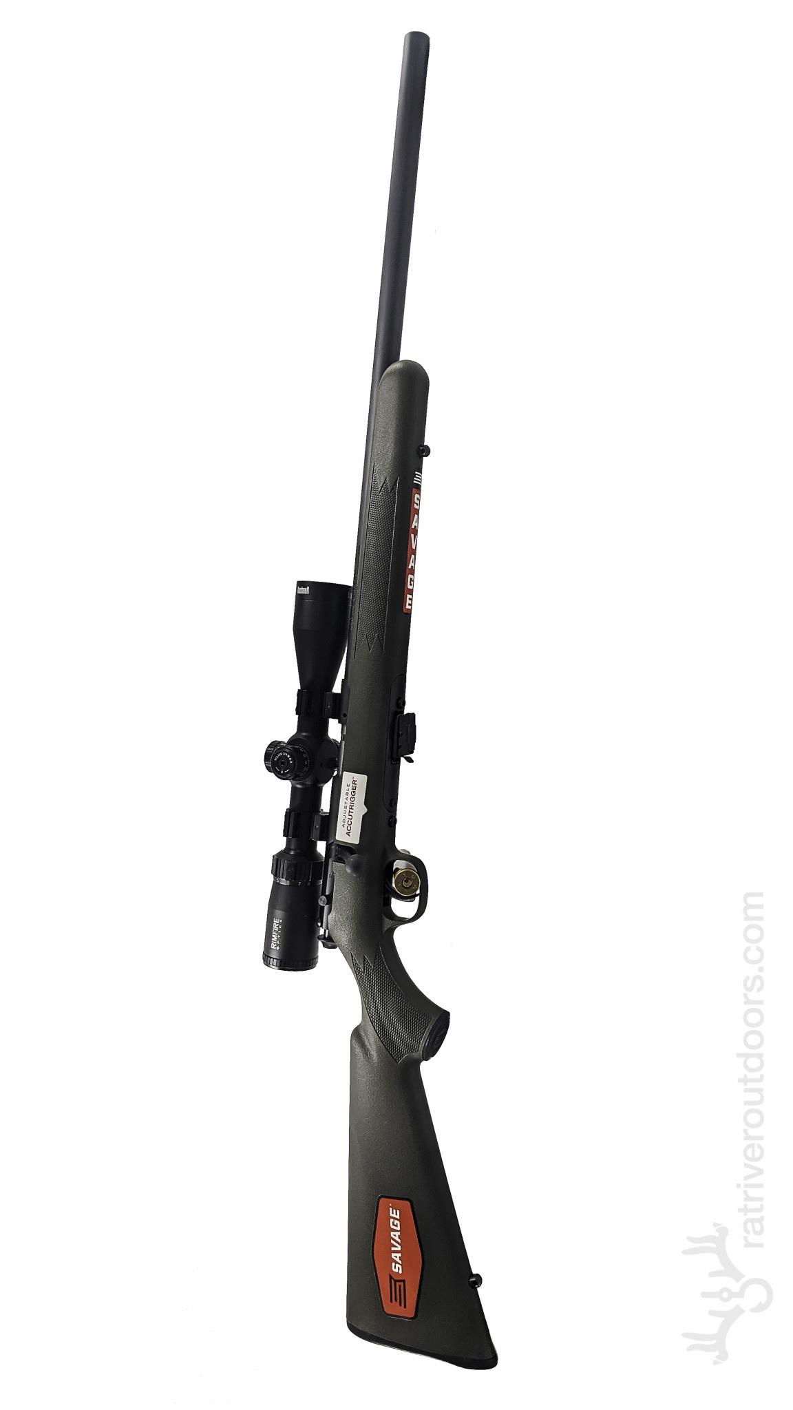 Savage Mark II .22lr Bushnell Scope Combo (Green)
