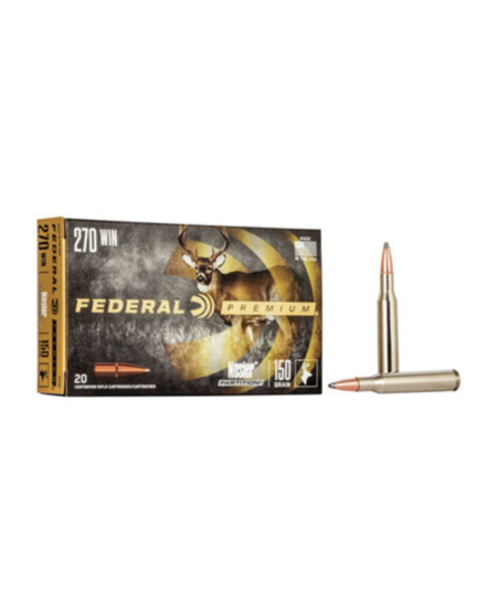 .270 Win 130gr Nosler Partition