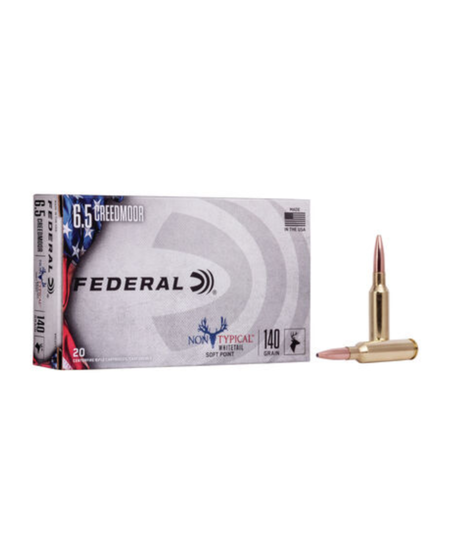 6.5 Creeedmoor 140gr Non Typical Soft Point