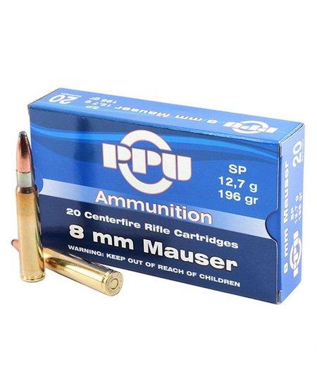 8mm Mauser 196gr Soft Point