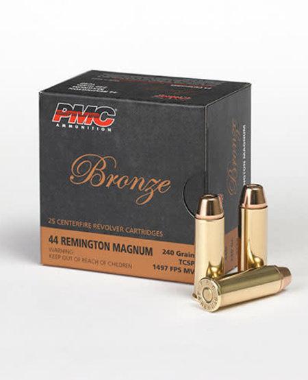 Bronze .44 Rem Magnum 240gr TCSP (25pk)