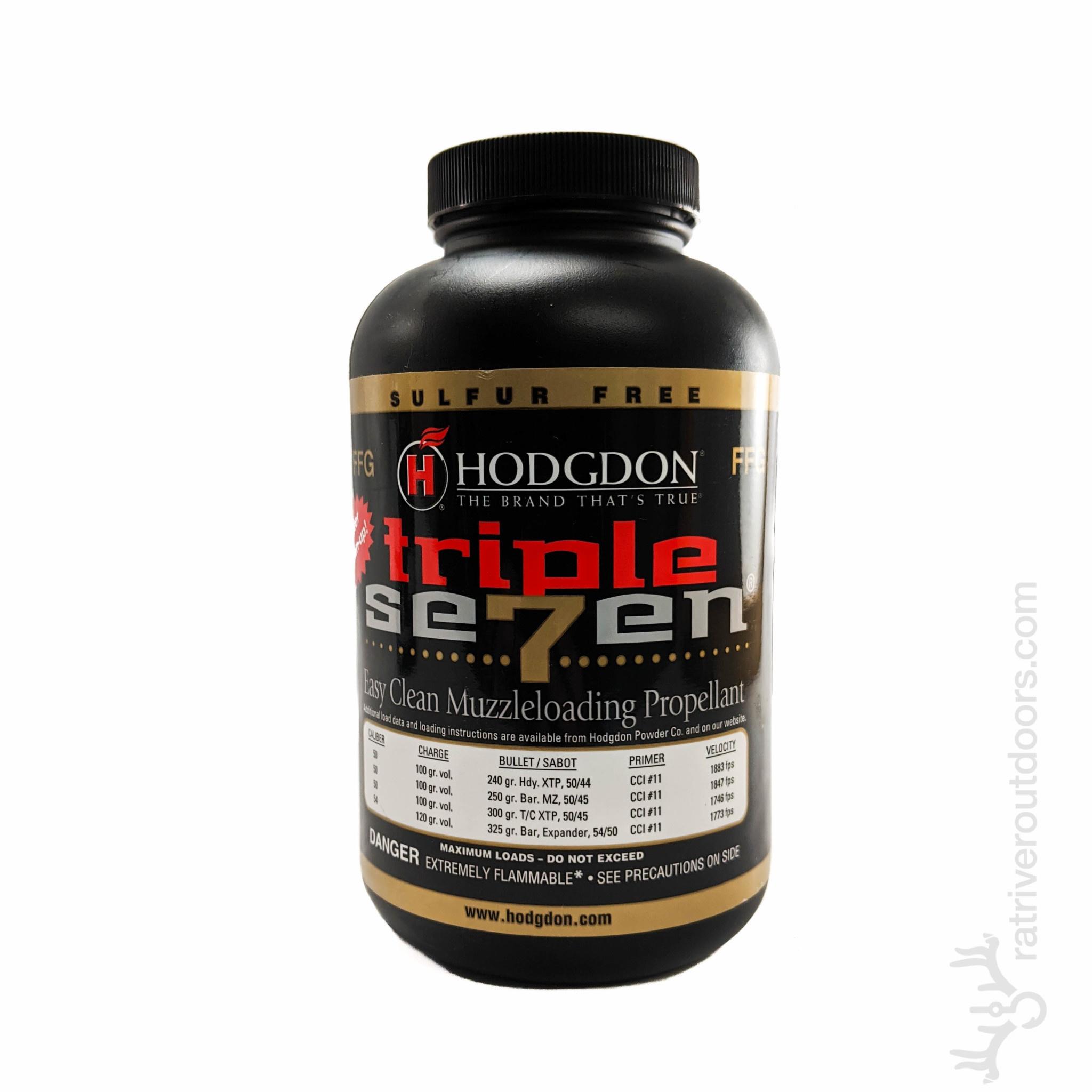 Hodgdon Triple Seven Powder FFG (1lb)