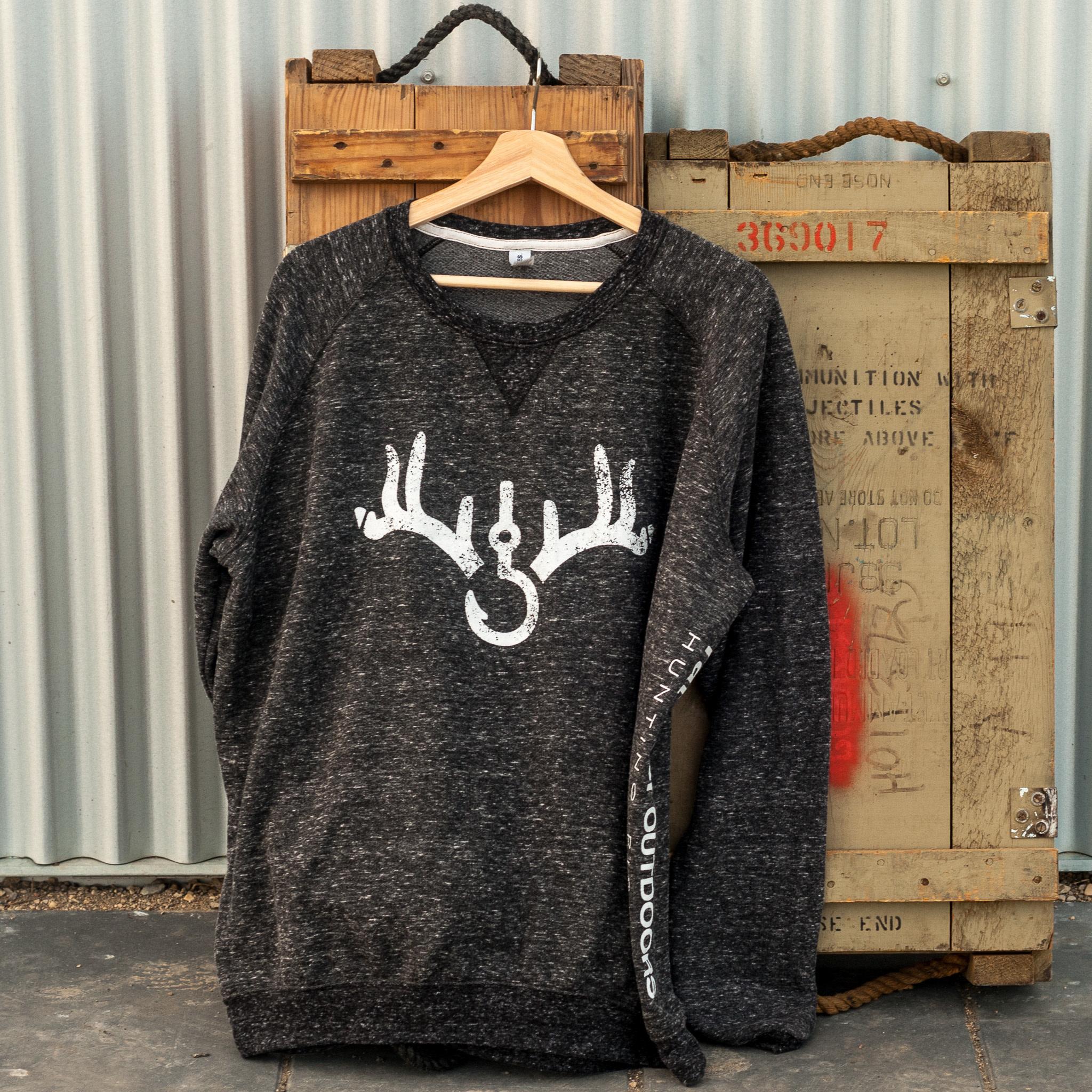 Jerzees Rat River Outdoors Crew Neck Raglan Sweater