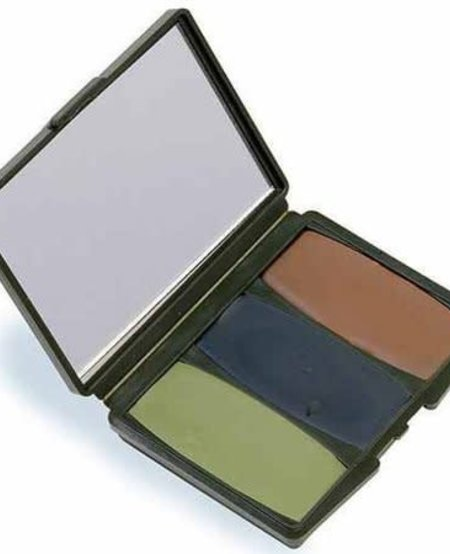 3 Color Camo Compact Make-Up Kit (Woodland)