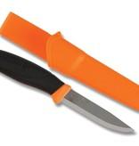 "Mora Companion 4"" Orange Stainless with Sheath"