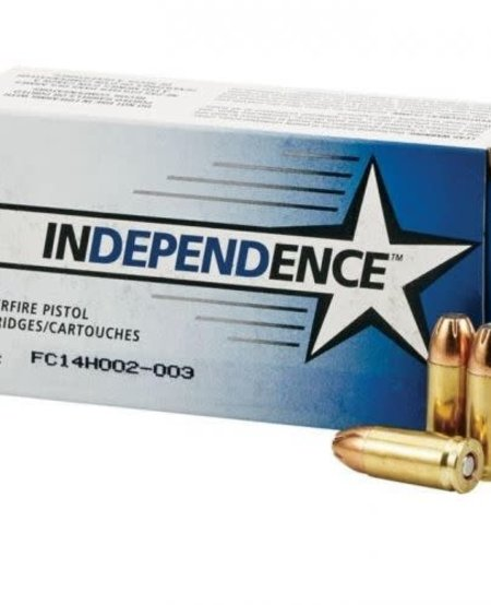 Independence 9mm 115gr JHP