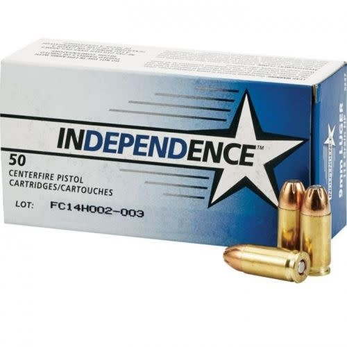 CCI Independence 9mm 115gr JHP