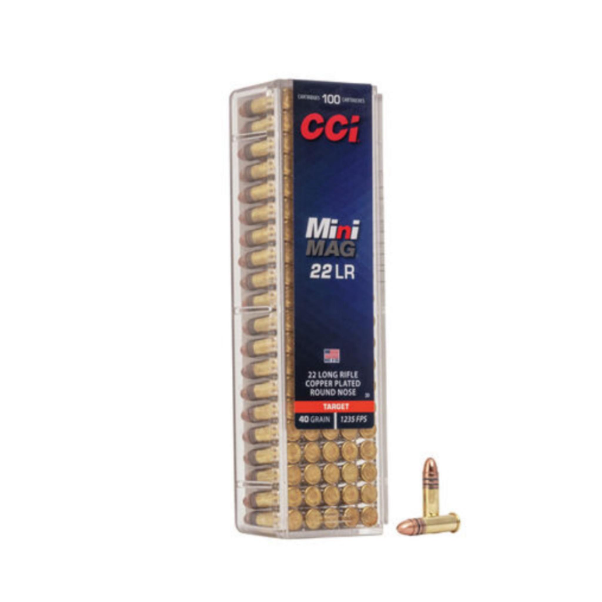 CCI Mini-Mag .22 LR HP 36gr (100pk)
