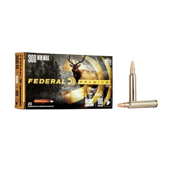 Federal Premium .300 Win, 180gr, Nosler Accubond (20pk)
