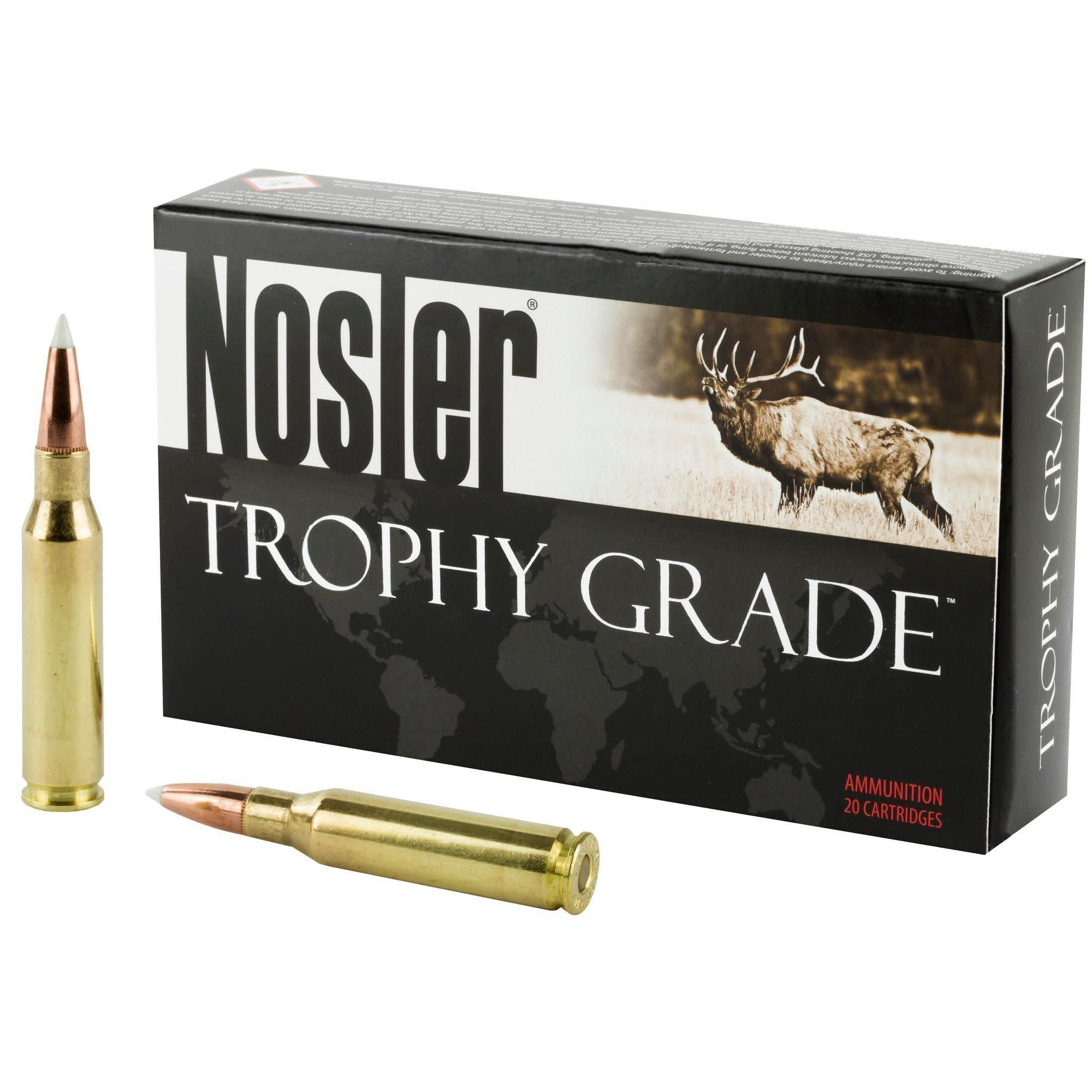 Nosler Nosler Trophy Grade .7mm-08 Rem, 140gr Accubond (20gr)