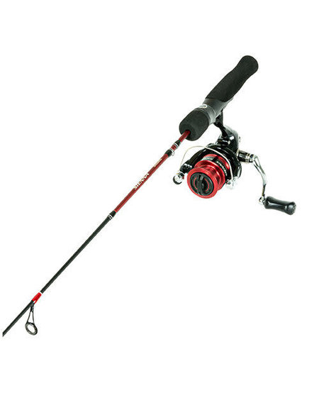 Sienna Ice Rod/Reel Combo (Red)