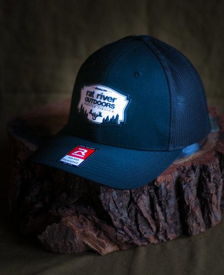 RRO Patched Logo Black Hat (Richardson 110 SM/MD)