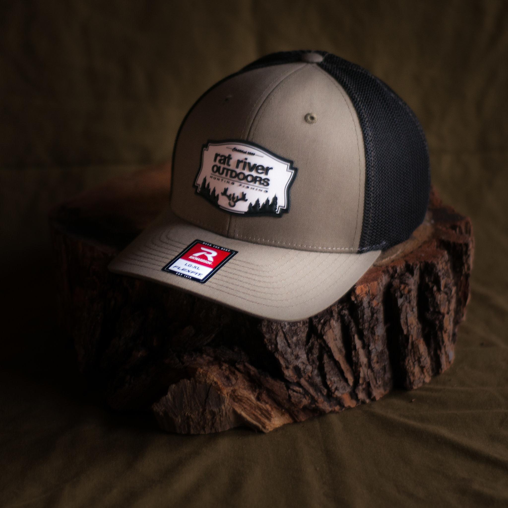 Richardson RRO Patched Logo Green/Black Hat (Richardson 110 SM/MD)