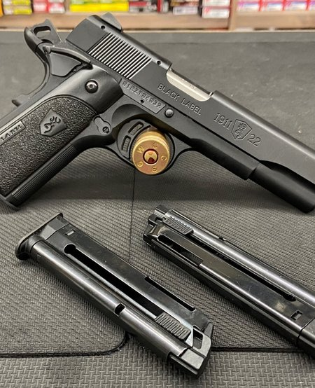 1911-22 22lr W/3 mags