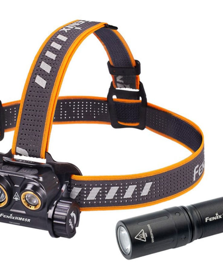 HM65R Headlamp + E01 V2.0 Flashlight