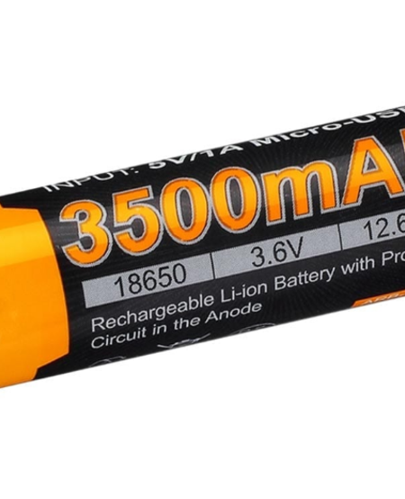 Rechargeable 18650 3.6V 3500mAh