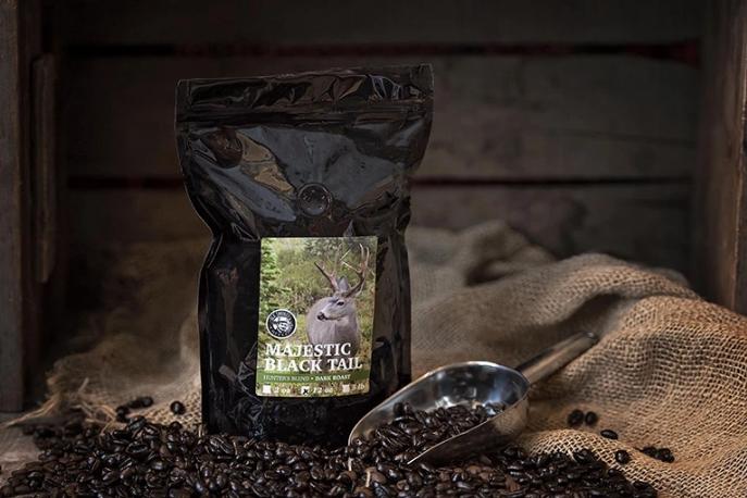 Ole Smokes Coffee Majestic Black Tail Blend Dark-Roast 12oz