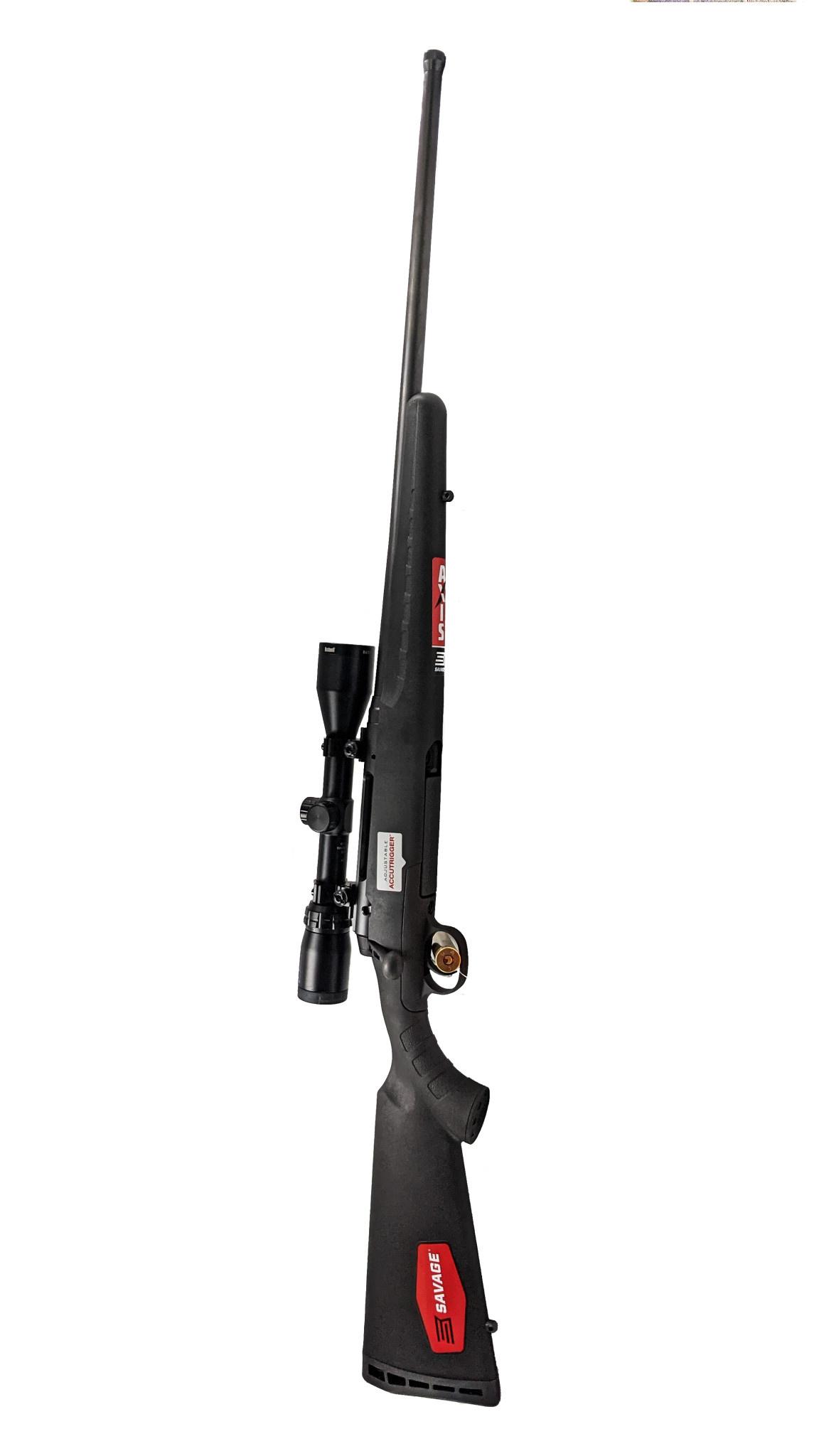 Savage Axis II XP SR 30-06 Threaded w/ Bushnell Banner 3-9x40mm scope