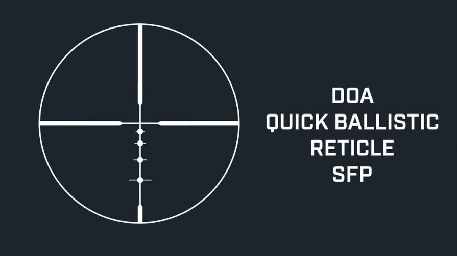 Bushnell 2 6-18x50mm DOA Reticle